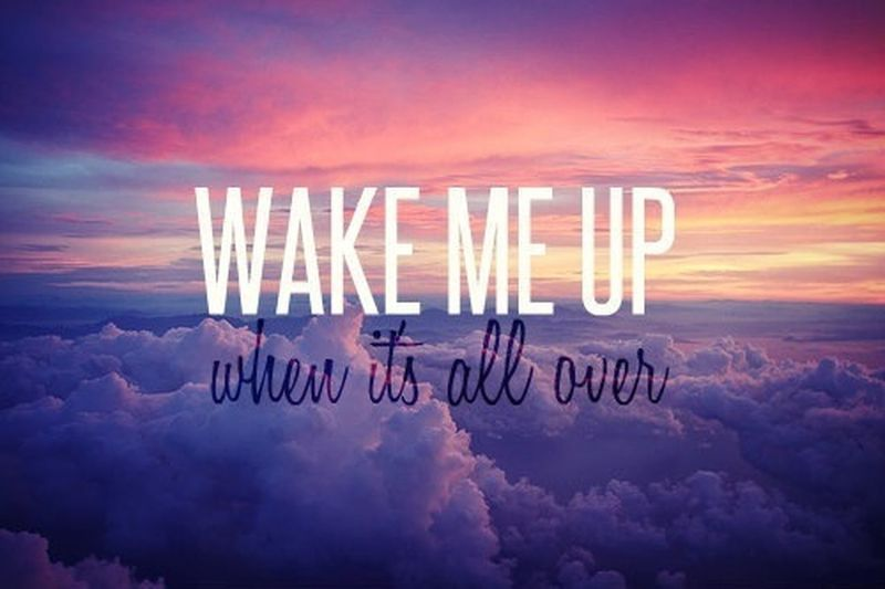 GoodNight❤ Wakemeupwhenitsallover Badday I miss u ♡