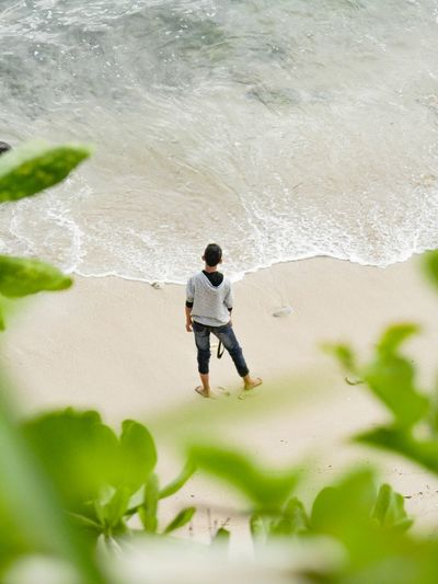 stay and stare. Beach Natural Hobby Indonesia Photography  INDONESIA Landscape Potrait Green Alone Ootd Standing