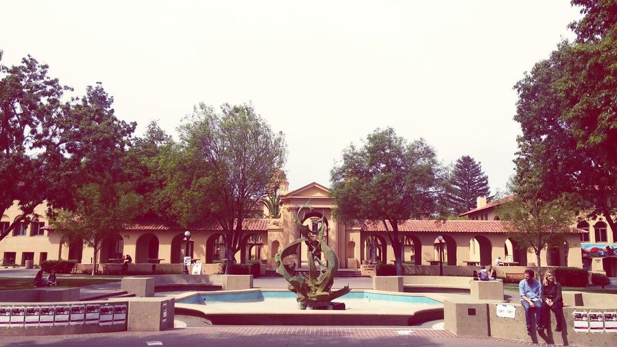 White Memorial Fountain Stanford University