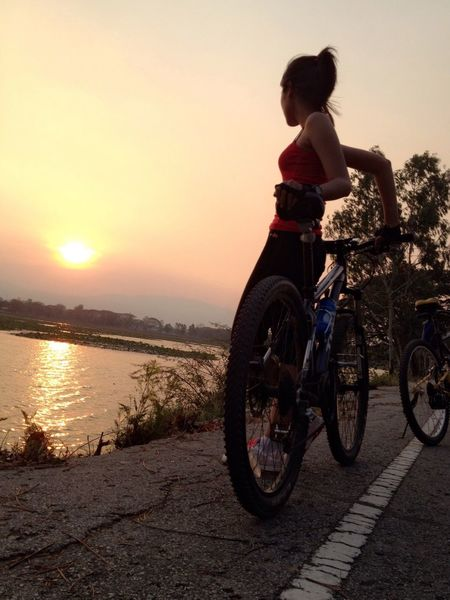 Hi My Friend Have Good Time Selfie That's Me Today Bicycle Sexygirl Summer 🚲😊