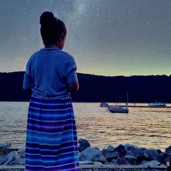 How I imagine a 7-year-old sees things. Imagination Filter River Hudson Hudsonriver Poughkeepsie NY Marina Newyork Dusk