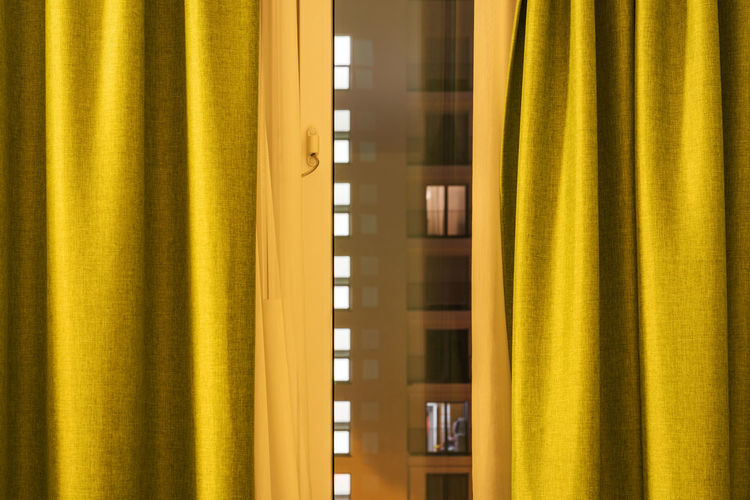 Close-up of curtain