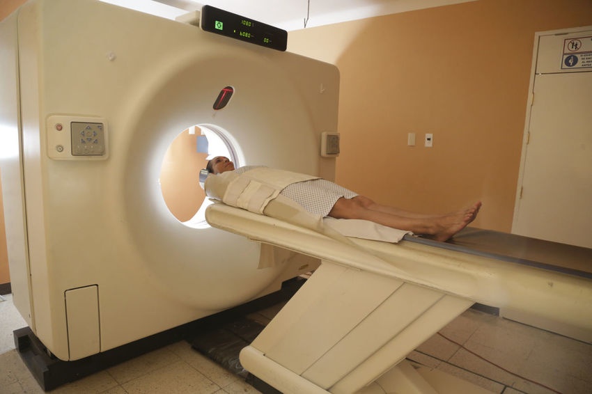 doctor reviewing brain tomography, tumor cancer Brainstorming Cancer Doctor  Hospital Medicine Cancer Research Clinic Illness Patient Stomachache Technology Tomography Tumor Women