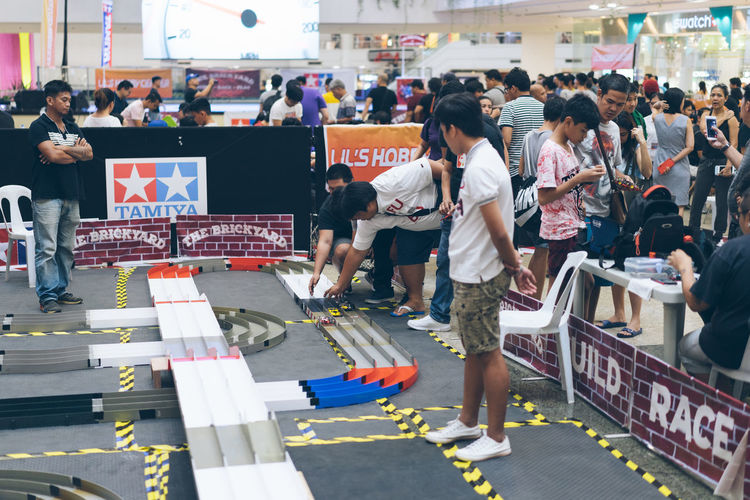 Tamiya competition in Glorietta - Makati Large Group Of People Group Of People Crowd Real People Adult Leisure Activity Competition Tamiya Hobby Mall Manila Makati Philippines ASIA RC Glorietta