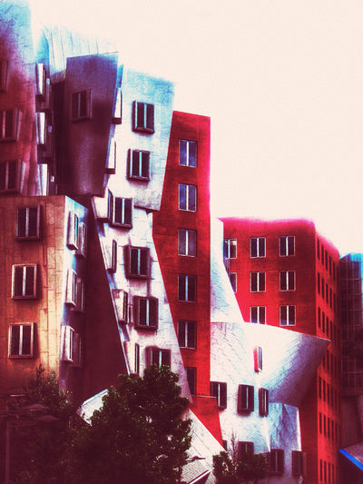 Stata Center in Massachusetts Modern Architecture Architecture Design Mobileartistry Colorful Architectural Detail EyeEm Best Edits