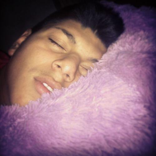 Awww My Baby Was Sleepy <3