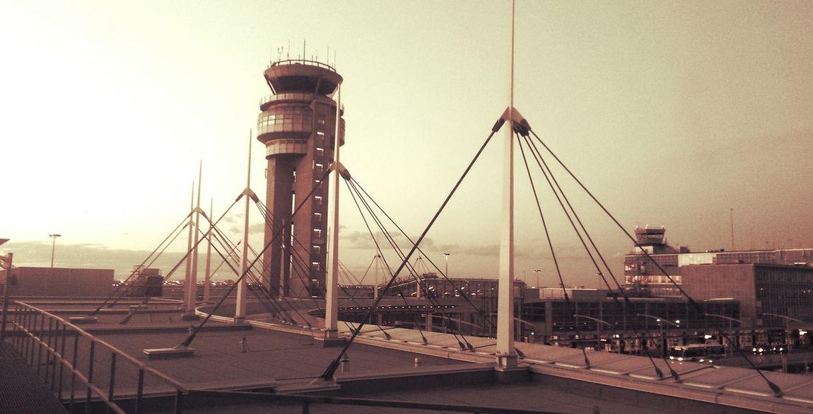 Urban Geometry Airoport Montreal :)k Black & White