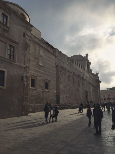Sicilia Sicily Sicily, Italy Cloud - Sky Contrast Dramatic Contrast Dusk Ortigia Siclia Travel Destinations Walking