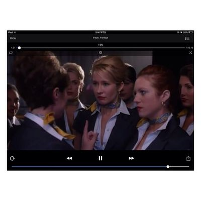 Now watching. Pitch perfect