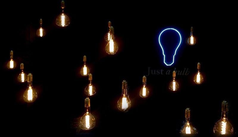 Just a bulb...💡💡💡💡