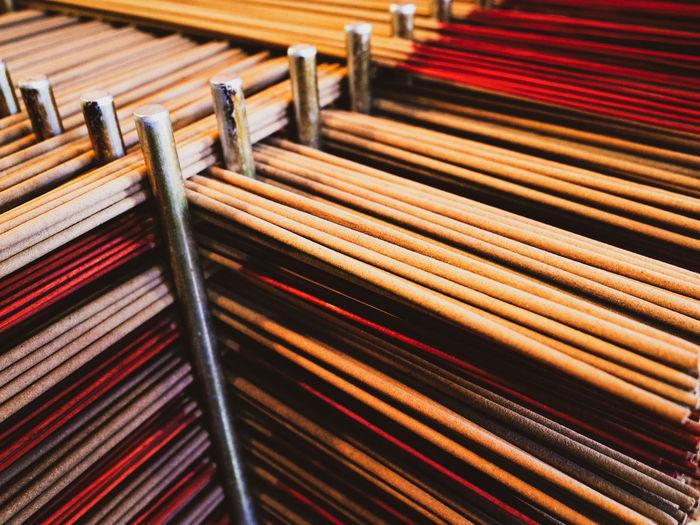 Full frame shot of musical instrument