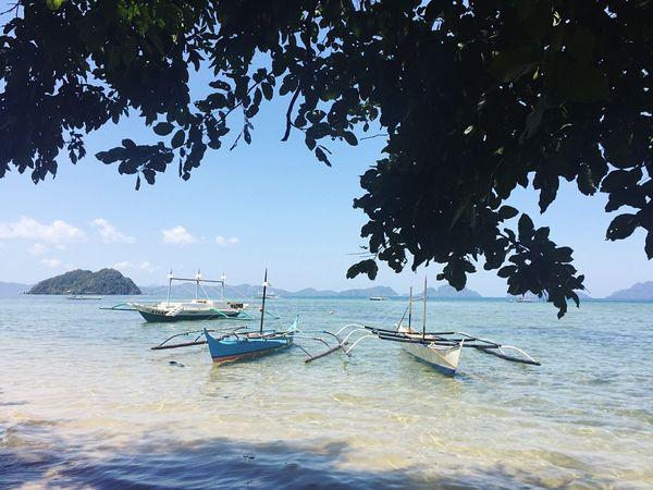 IPhoneography Beachphotography Palawanadventures Boats⛵️