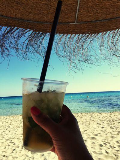 Liquid Lunch Menorca Beach Mojito!