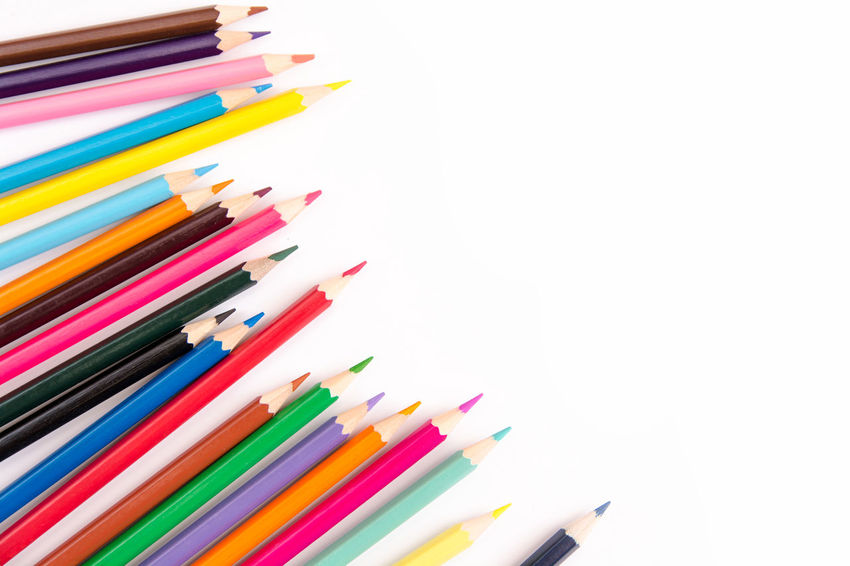 Pencils colorful set, wooden colored pencils isolated on white background, copy space Creativity Graphic Isolated Pencils Pink Red Art Collection Color Colored Pencil Colorful Copy Space Craft Crayon Creativity Drawing Frame Large Group Of Objects Multi Colored Pencil Row Sharp Studio Shot White Background Wooden