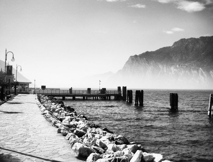 Torbole Showcase: December Beauty Bellezza Untold Stories Blackandwhite Trentino  Bella Italia Lago Di Garda Landscapes With WhiteWall