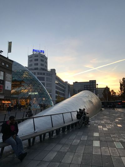 Eindhoven in the late afternoon Eindhoven Dusk City