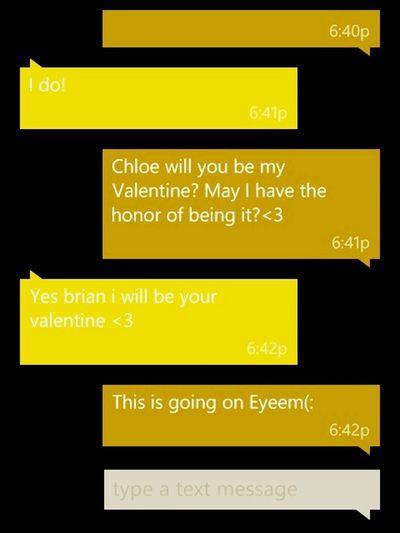 She Said Yes!<3