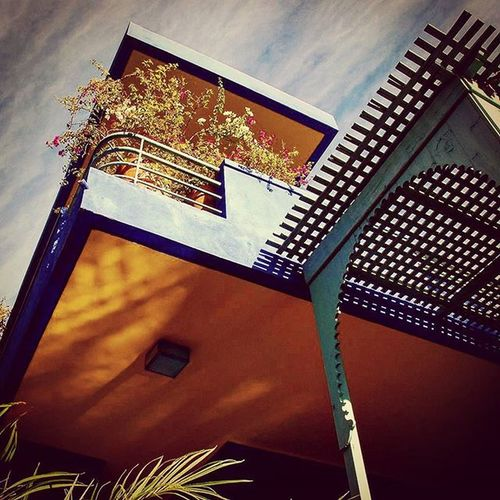Villa Majorelle Instagramers Picsoftheday Maroc Morocco Igersmorocco Marakech Igersmarakech Igersmorocco Architecture Cite Archilovers Art Beautiful Capture Instagramtags Webstagram Architecture Colors Blue Ysl Majorelle Garden Berge