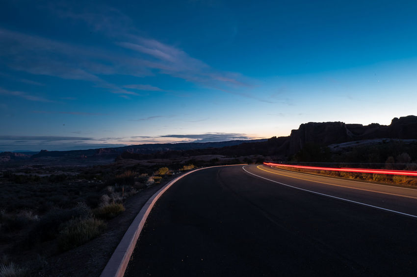 Road trip in Nevada, Arizona and Utah Grand Canyon Canyons Road Road Trip Antelope Canyon Bryce Canyon Zion National Park Nightphotography Monument Valley Transportation Outdoors Dividing Line Scenics - Nature