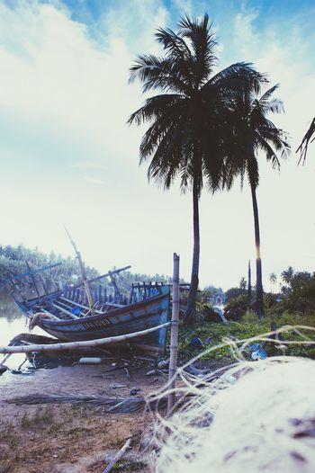 Fishing Trawler Malaysia The Photojournalist - 2015 EyeEm Awards Kuala Terengganu Derelict Abandoned Boat