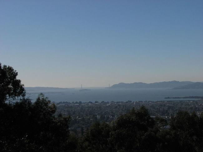 From the Berkeley Hills Berkeley, CA Golden Gate Bridge San Francisco San Francisco Bay Sky Sky And Clouds