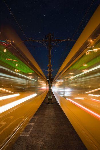 Trams come & go