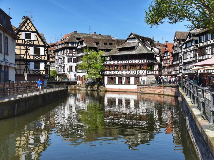 France Alsace EyeEmNewHere EyeEm Nature Lover Travel Travel Destinations Europe Culture City Water Flood Reflection Sky Architecture Building Exterior Built Structure Standing Water Floating On Water