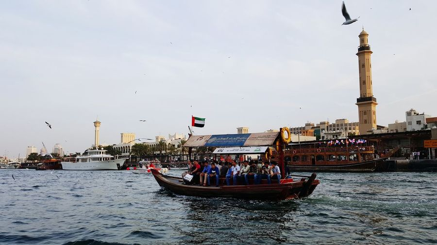 The Abra (water taxi) from Bur Arab district to Deira Souk United Arab Emirates My Travel In Dubai Series: Hello World Check This Out Traveling Waterscape Water Photography Travel Photography Lizara ❤️ Solo Traveler! Tranquility Exploring For My Own Photo Journal