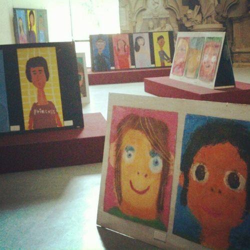 畫我自己-方圓之間… 展覽地點:台中兒童藝術館