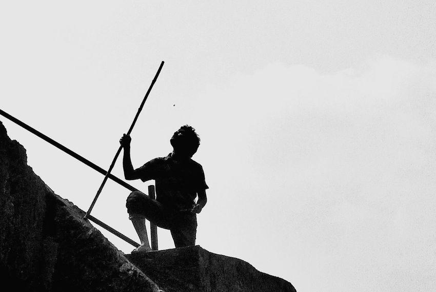 Leadership Only Men Men People Adult Occupation Adults Only Standing Outdoors Silhouette Headwear One Man Only Day Working Weapon One Person Real People Spraying Firefighter Water Teamwork Raj Blackandwhite Hills Hilltop