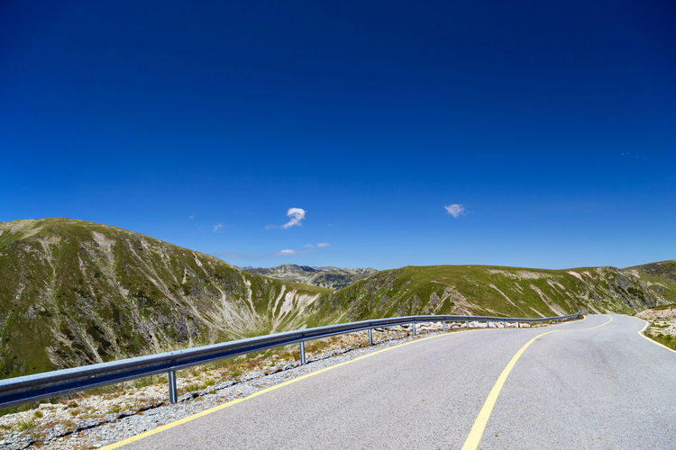 Summer view of Transalpina mountain road Green Green Color Nature Romania Transfagarasan Road Transylvania Travel Trip Aerial,abyss, Forest Landscape Mountain Summer Transalpina Road Winding Road