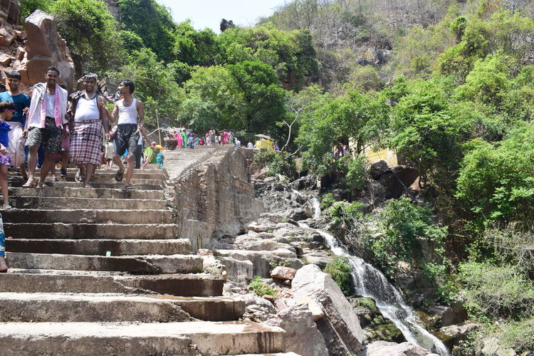 Large Group Of People Real People Outdoors Steps Men Day Steps And Staircases Tree Lifestyles Women Nature People Sky Adult