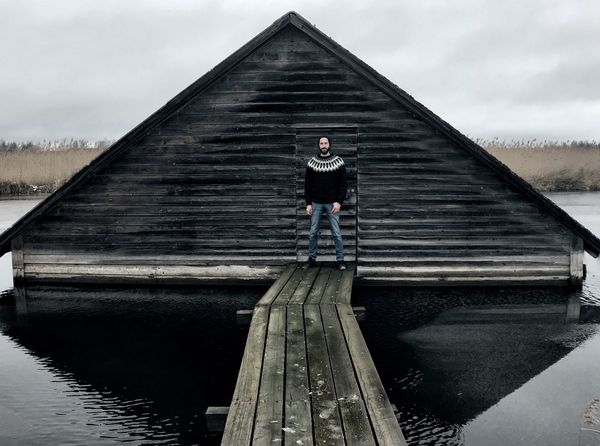 Iceland Lake Full Length One Person Real People Day The Way Forward Outdoors One Man Only Men Sky Standing Portrait Only Men Adults Only Young Adult Adult People Water