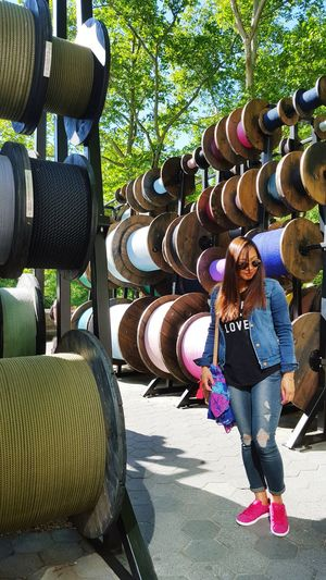 Spools Of Thread 5th Avenue Colorful Beautiful Day