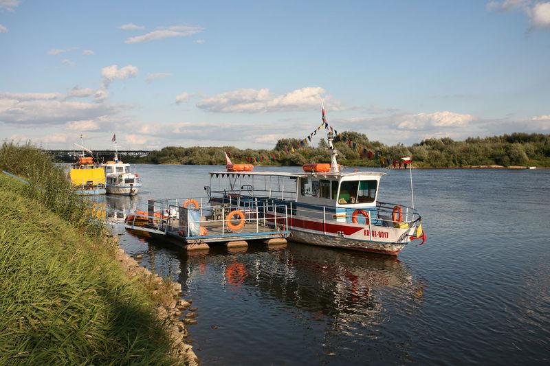 Ferry Sandomierz Vistula Boat Mode Of Transport Nautical Vessel River Ship Transportation Water Wisla Wisła