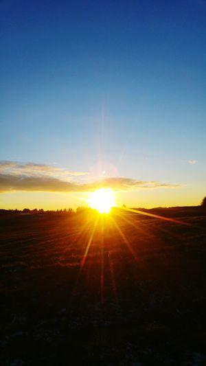 Sunset Sunlight Sky Nature Sun Landscape Scenics Outdoors Beauty In Nature Cloud - Sky Beauty No People Day