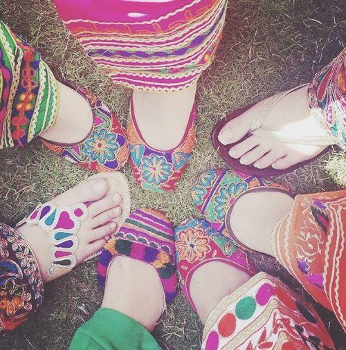 Indian Shoes Colors Khussa bonne Journée ✌️❤️???????????????