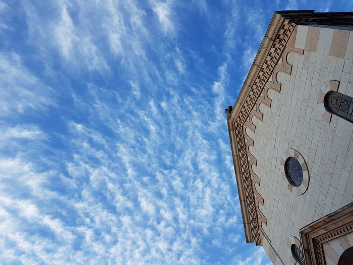 Architecture Building Exterior Built Structure Cloud - Sky Day Low Angle View No People Outdoors Place Of Worship Religion Sky Spirituality