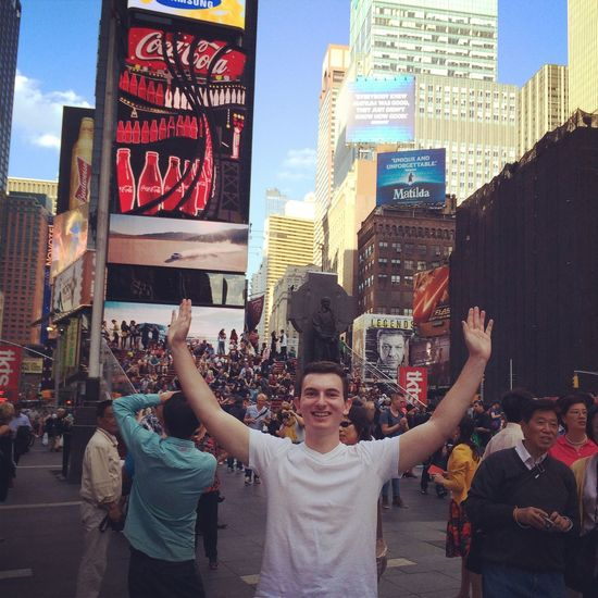 That's Me Model TimesSquare Follow Me :)