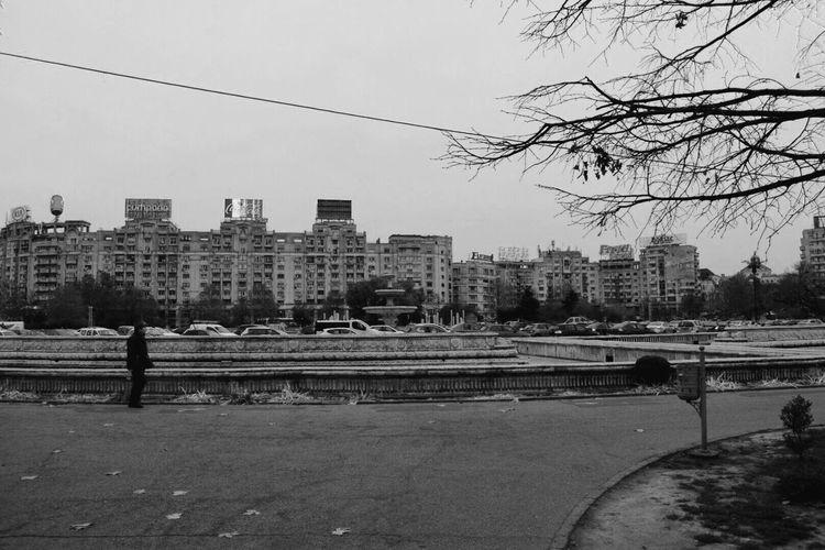 Architecture Building Exterior City Lifestyles City Life Black And White Blackandwhite Photography Black & White Black&white Black And White Collection  Black And White Photography Blackandwhitephotography Blackandwhite Romania Bucharest