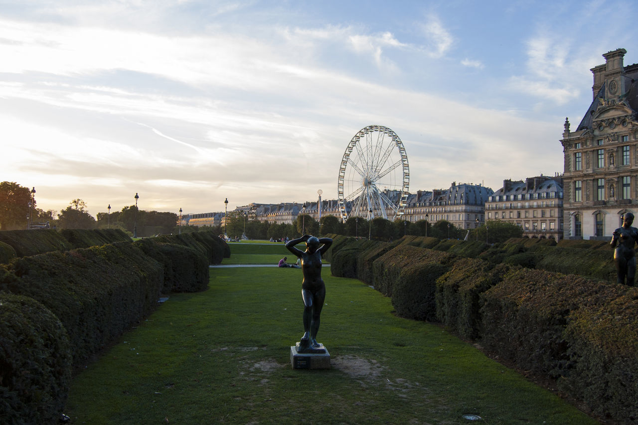 Paris Jardin Des Tuileries Wheel France