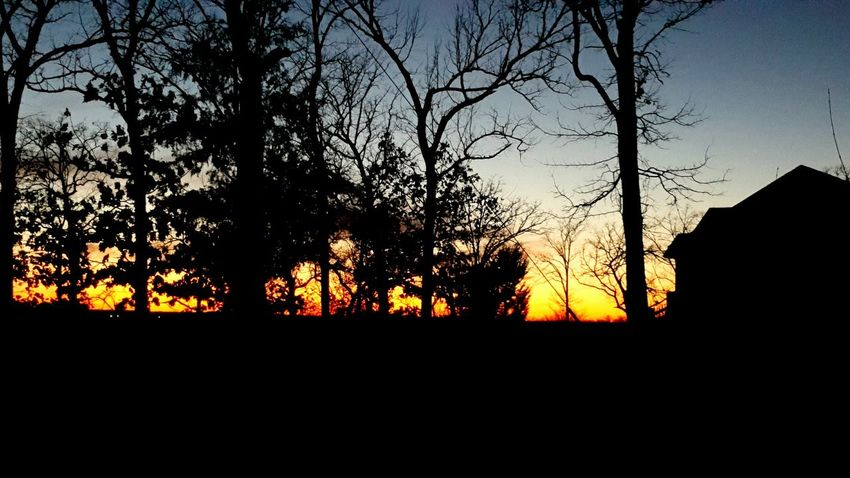 Sunset in Branson Missouri 12/29/15 Taking Photos Hello World Lovely Weather Capture The Moment Check This Out Beautiful Surroundings