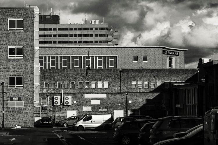 Southampton skyline Architecture City Architecture_collection Cityscapes Black&white Southampton