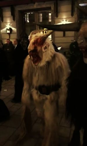 The only thing i like about christmas. He's coming!!!Christmas Time Antichristmas Happychristmas Krampus Navidad Antinavidad Desfile Demons Stories Krampusnaccht Iscoming