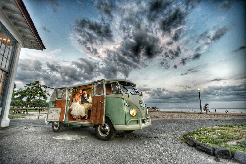 Volkswagenbus Photobooth Bride Groom Studio1923
