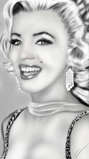 Digital art drawn by me One Woman Only Beauty Beautiful Woman Portrait Human Face Digital Eye Masters Digital Painting Digital Art Digitalartwork Marilyn Monroe <3 Portait EyeEm Gallery Real People Reflection Once Apon A Time Missyou Art Is Everywhere
