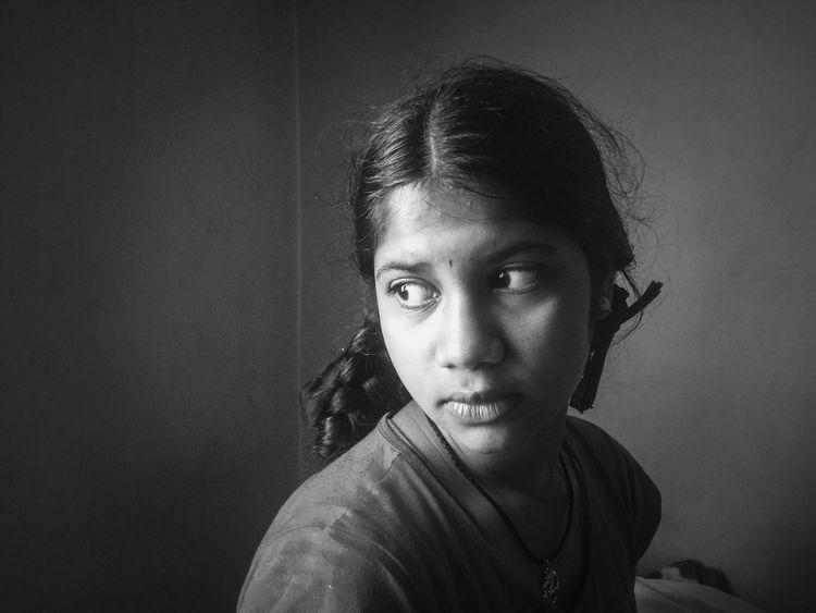 Girl Blackandwhite Portrait Young Teen Confidence  The Portraitist - 2016 EyeEm Awards Girl Power Everyday Emotion