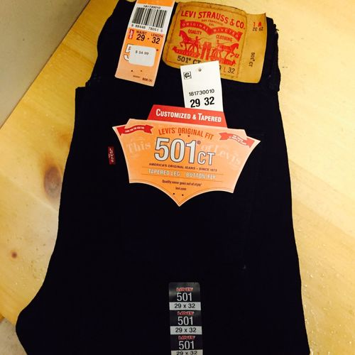 Got my 501 CT jeans 501 Ct 501 jeans