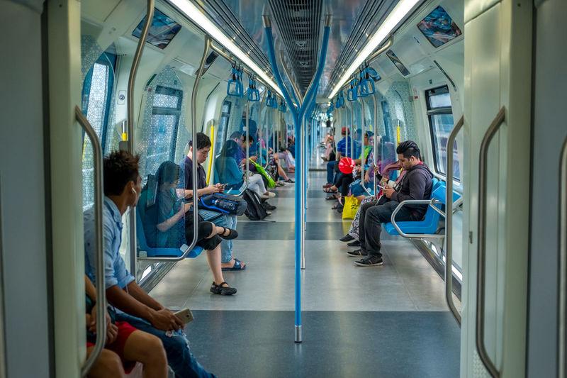 Passengers in