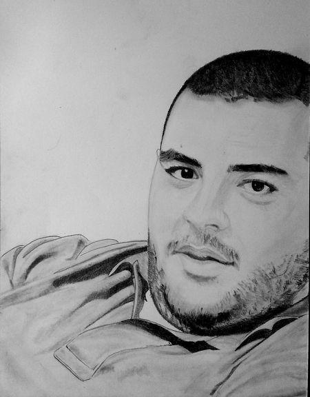 Portrait My Drawing Pencilart Sketch